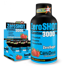 STACKER2 - Stacker2 Zero Shot 3000 mg x12 L-Carnitine Çilek