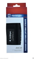 HARBINGER - Harbinger Padded Cotton Lifting Straps 21300