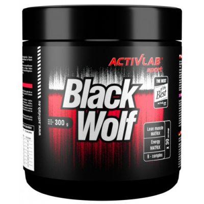 Activlab Sport Black Wolf Pre-Workout 300 gram 30 servis
