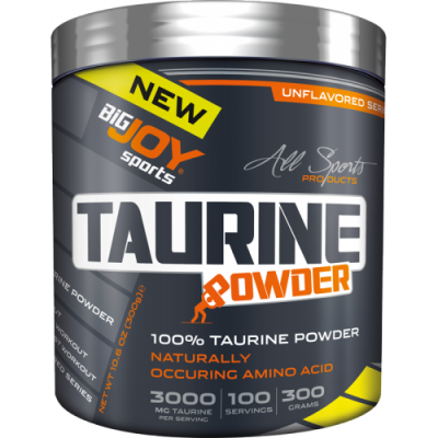 Bigjoy Taurine Powder 300 gr Toz