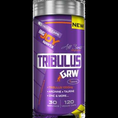 BigJoy Tribulus GRW 120 Bitkisel Kapsül Arginine Taurine Zinc