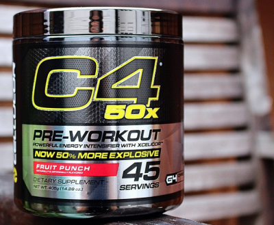 Cellucor C4 50x Pre Workout 405 gr Fruit Punch