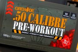 GRENADE - Grenade 50 Calibre Pre-Workout 50 Servis + HEDİYE