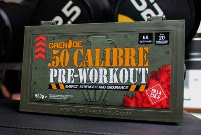 Grenade 50 Calibre Pre-Workout 50 Servis + HEDİYE
