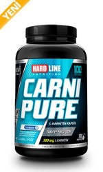HARDLINE - Hardline Carnipure 500 mg 100 kapsul Karnitin