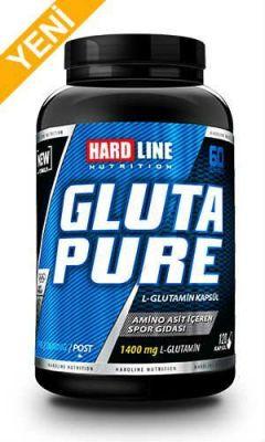 Hardline Glutapure L-Glutamine 120 kapsul