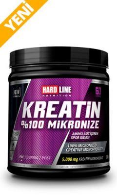 Hardline Kreatin %100 Mikronize 300 gr Creatine