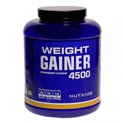 NUTRADE - Nutrade Weight Gainer 4500 Gr Karbonhidrat Çilek Aromalı Sıfır Şeker