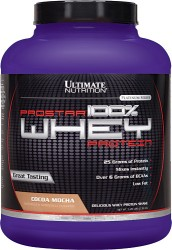 Ultimate Nutrition Prostar Whey Protein 2.39 Kg Cocoa Mocha