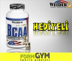WEIDER - Weider All Free Form BCAA 1120 mg 130 tablet