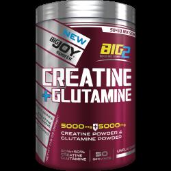 BIGJOY SPORTS - Bigjoy Big2 Creatine + Glutamine 505 gr Aromasız