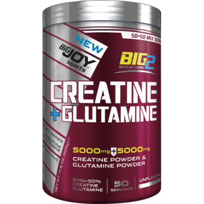 Bigjoy Big2 Creatine + Glutamine 505 gr Aromasız