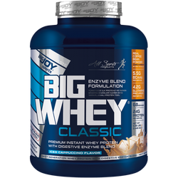 Bigjoy Bigwhey Whey Protein Classic Kapuçino 2448g 68 Servis - Thumbnail