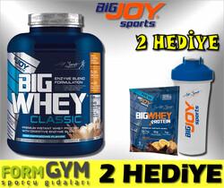 BIGJOY SPORTS - Bigjoy Bigwhey Whey Protein Classic Kapuçino 2448g 68 Servis