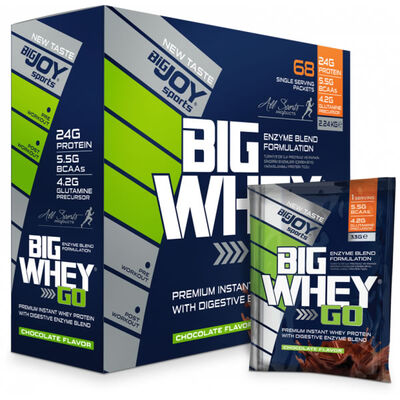 Bigjoy Bigwheygo Protein Tozu 68 Servis Çikolata Aromalı