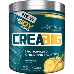 BIGJOY SPORTS - Bigjoy Creabig 420 gr Creatine Ananas Aromalı Kreatin
