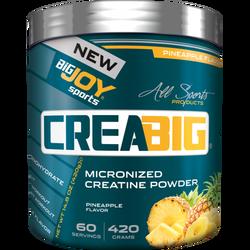 BIGJOY - Bigjoy Creabig 420 gr Creatine Ananas Aromalı Kreatin