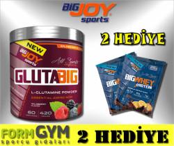 BIGJOY SPORTS - Bigjoy GlutaBig 420 gr Aromalı Glutamine