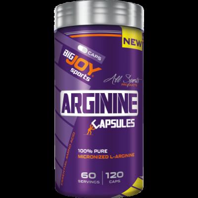 BigJoy Arginine 120 Capsules Arjinin