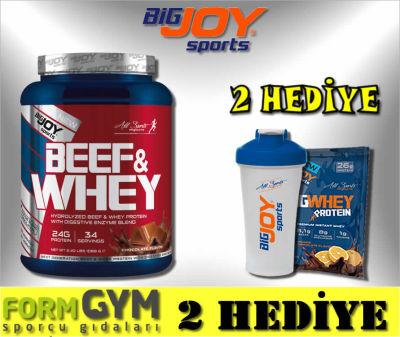 Bigjoy Sports Beef & Whey Çikolata 1088 gr