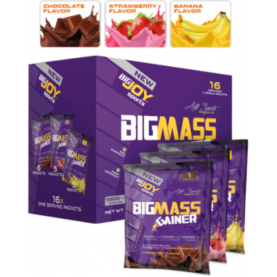 BigJoy Sports BigMass Gainer 16 Servis 1600 gr