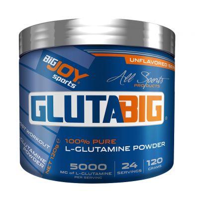 Bigjoy Sports Glutabig 120 gr L-Glutamine Powder