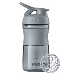 BLENDER BOTTLE - Blender Bottle Shaker 550 ml SportMixer Gri