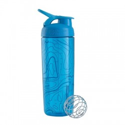 BLENDER BOTTLE - Blender Bottle Shaker 700 ml Signature Sleek Aqua