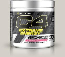 CELLUCOR - Cellucor C4 Extreme Energy 255 gram Pre-Workout Strawberry-Kiwi