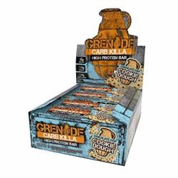 GRENADE - GRENADE Protein Bar Carb Killa 60 gr - 12 adet - Çikolata Parçacıklı Kurabiye