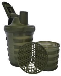 GRENADE - Grenade Smart Shaker 600 ml 2 Bölmeli Yeşil