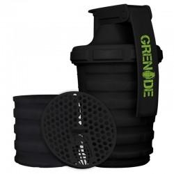 GRENADE - Grenade Smart Shaker 600 ml 2 Bölmeli Siyah