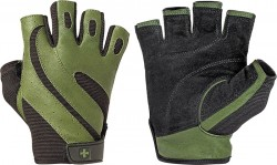 HARBINGER - Harbinger Mens Pro W&D Fitness Glove Eldiven Green 14334