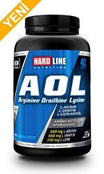 HARDLINE - Hardline AOL Arginine Ornithine Lysine 120 Kapsül