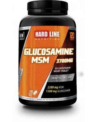 Hardline Glucosamine MSM Glukozamin 120 tablet