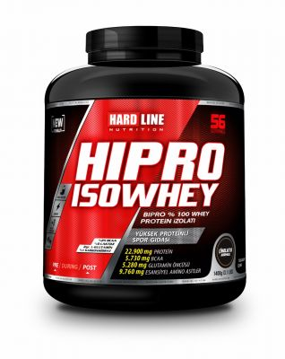 Hardline Hipro Iso İzole Whey Protein 1800 gr Aromasız Plan