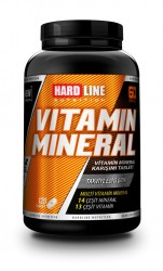 HARDLINE - Hardline Vitamin Mineral 120 tablet