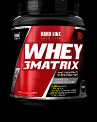 HARDLINE - Hardline WHEY 3 Matrix 908 gr Protein Çikolata