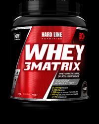 HARDLINE - Hardline WHEY 3Matrix 908 gr Protein Çilek