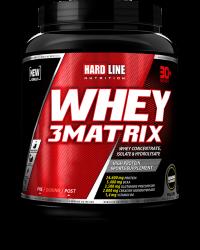 HARDLINE - Hardline WHEY 3Matrix 908 gr Protein Muz
