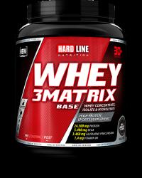 HARDLINE - Hardline WHEY 3Matrix 908 gr Protein Base Çikolata