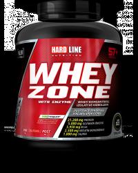 HARDLINE - Hardline WHEY ZONE Protein 2300 gr