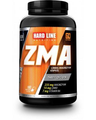 Hardline ZMA 180 kapsül Çinko Magnezyum B6