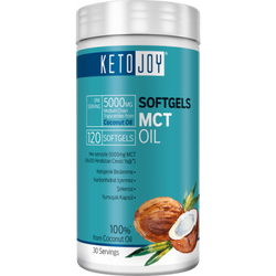 BIGJOY SPORTS - Ketojoy MCT Oil 120 Softgels