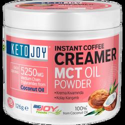 BIGJOY SPORTS - Ketojoy MCT Oil Powder 126g Instant Coffee Creamer