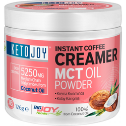 BIGJOY - Ketojoy MCT Oil Powder 126g Instant Coffee Creamer