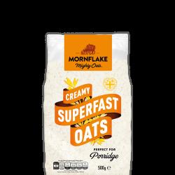 - Mornflake Creamy Superfast Oats 500 gr İngiliz Yulaf Ezmesi