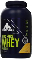 MULTIPOWER - Multipower %100 Whey Protein 900 gr Muz-Mango