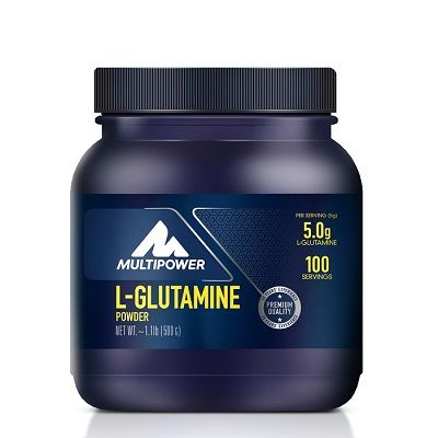 Multipower L-Glutamine %100 Pure 500 gr + HEDİYE