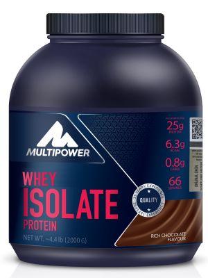 Multipower İzole Whey Protein Tozu isolate 2000 gr Çikolata